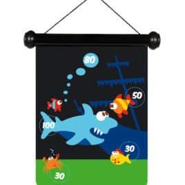scratch magnetische darts sea life haai