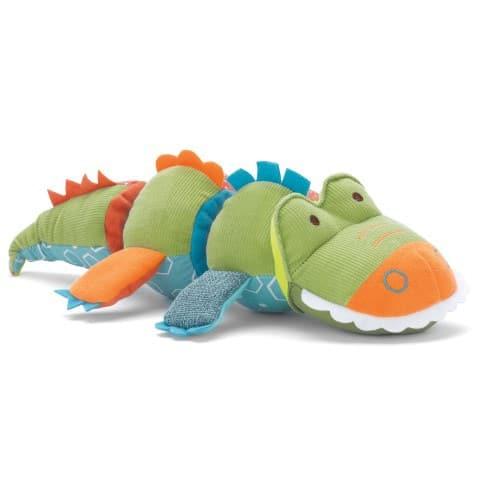 Skip Hop Activiteiten knuffel Krokodil vooraanzicht