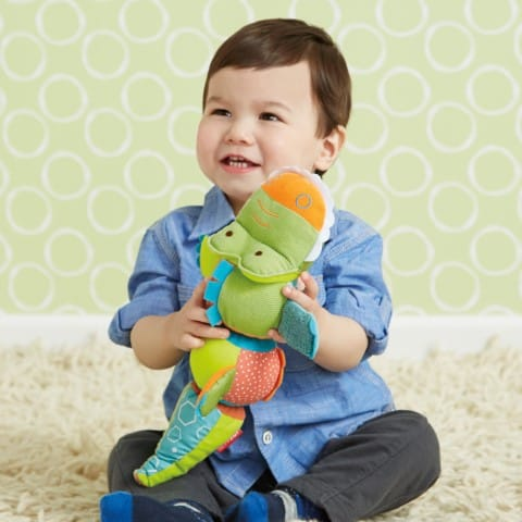 Skip Hop Activiteiten knuffel krokodil