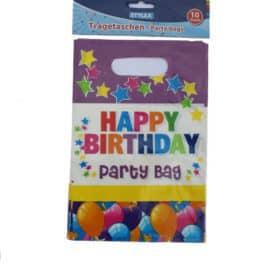 Happy Birthday Geschenkzakjes Ballonnen