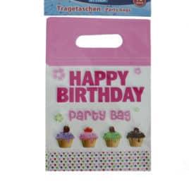 Happy Birthday Geschenkzakjes Cupcakes