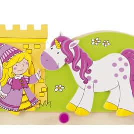 Goki Kapstok Prinses Met Eenhoorn