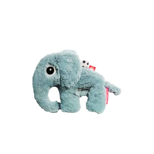Done By Deer Cuddle Cute Elphee de Olifant Blauw Knuffel DD-30612