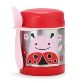 Skip Hop Zoo Insulated Food Jar Ladybug 1