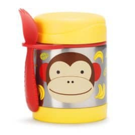 Skip Hop Zoo Insulated Food Jar Monkey 1