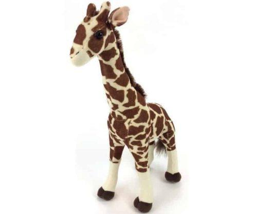 30163-pluche giraffe staand