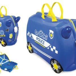 Trunki Ride On Police kind zijaanzicht overview