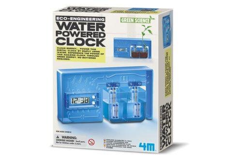4M kidzlabs green science water powerd clock 1