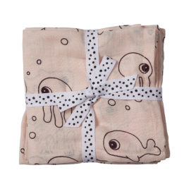 done by deer swaddles sea friends roze