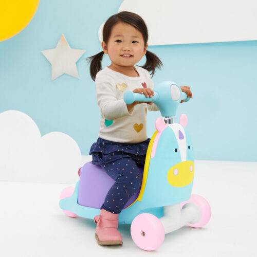 skip hop ride on unicorn met kindje