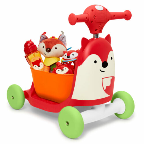 skip hop ride on toy vos met opbergbak