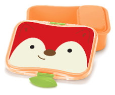 skip hop zoo lunchbox fox