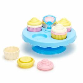 green toys cupcake set 4