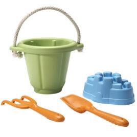 green toys zandspeelset groen b2