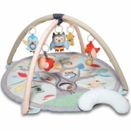 Treetop Friends Activity Gym Grey Pastel 1