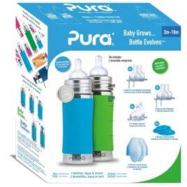 pura drinkflessen 5