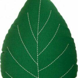 roommate leaf kussen groen