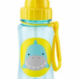skip hop zoo straw bottle haai