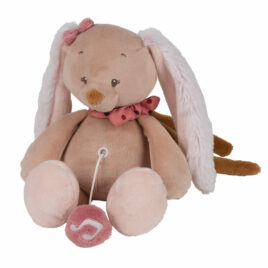 nattou muziektrekker pauline het konijn