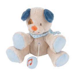 nattou muziektrekker jim de hond
