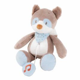 nattou muziektrekker bob de wasbeer