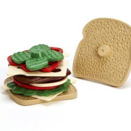 green toys sandwich set