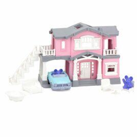green toys villa roze