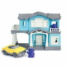 green toys villa blauw